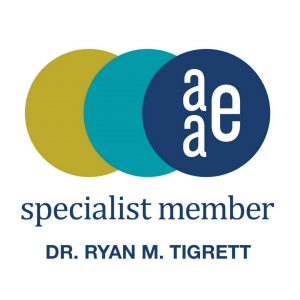 Dr. Ryan Tigrett - Specialist Member - American Association of Endodontists